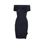 Authentic Second Hand Roland Mouret Stretch Origami Dress with Ribbon Tie (PSS-014-00056) - Thumbnail 0