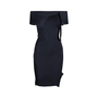 Authentic Second Hand Roland Mouret Stretch Origami Dress with Ribbon Tie (PSS-014-00056) - Thumbnail 3