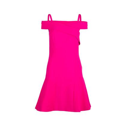 Authentic Second Hand Emilio Pucci Spaghetti Strap Off Shoulder Dress (PSS-014-00058)