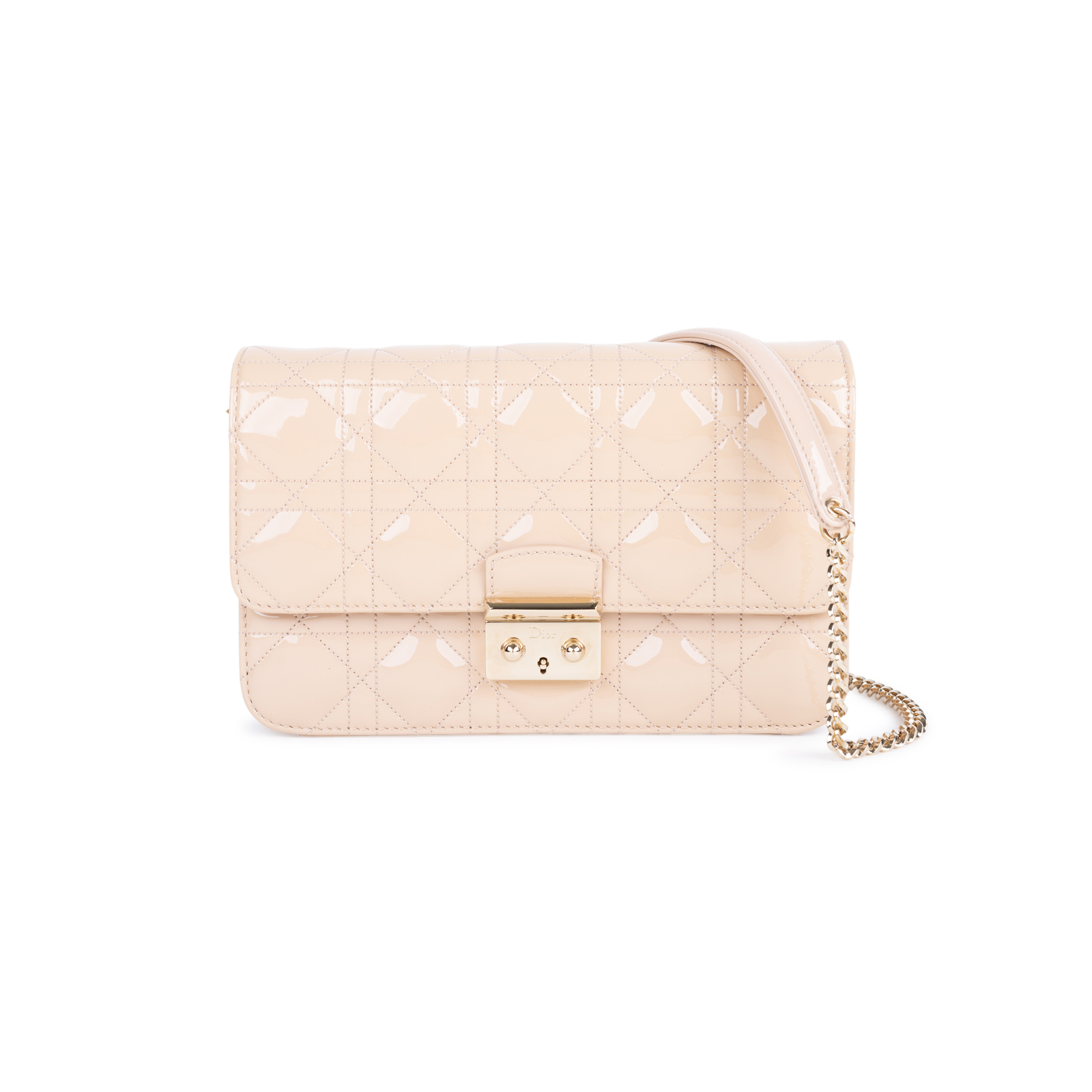 Authentic Pre Owned Christian Dior New Lock Pouch Bag (PSS-328-00017)   THE  FIFTH COLLECTION® 840f0d5b5a