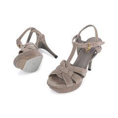Yves saint laurent glitter effect tribute sandals 2?1546938011