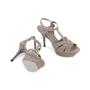 Authentic Second Hand Yves Saint Laurent Glitter Effect Tribute Sandals (PSS-328-00019) - Thumbnail 2