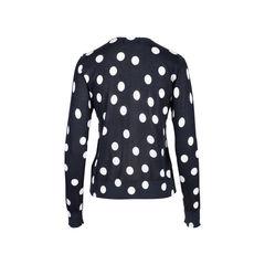 Dolce gabbana orange applique polka dot sweater 2?1546939758