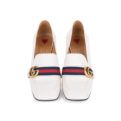 Authentic Pre Owned Gucci Peyton Pumps (PSS-377-00054)