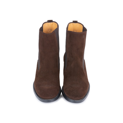 Authentic Second Hand Tod's Suede Chelsea Boots (PSS-377-00058)