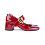 Authentic Pre Owned Prada Patent Mary-Jane Pumps (PSS-377-00060) - Thumbnail 4
