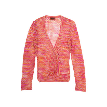 Authentic Second Hand Missoni Sheer Knit Cardigan (PSS-377-00061)
