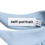 Authentic Pre Owned Self-Portrait Purl Knit Cut-out Shoulder Blouse (PSS-578-00001) - Thumbnail 2