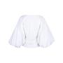Authentic Second Hand Caroline Constas Josie Wrap Poplin Blouse (PSS-578-00009) - Thumbnail 1