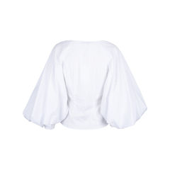 Caroline constas josie wrap poplin blouse 2?1547009933