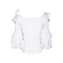 Authentic Second Hand Sea Antoinette Tier-Sleeve Blouse (PSS-578-00010) - Thumbnail 1