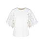 Authentic Second Hand See by Chloe Snow White Lace Blouse (PSS-578-00002) - Thumbnail 0