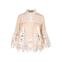 Authentic Second Hand Anna Sui Crochet Paneled Blouse (PSS-578-00003) - Thumbnail 0