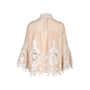 Authentic Second Hand Anna Sui Crochet Paneled Blouse (PSS-578-00003) - Thumbnail 1