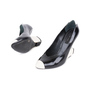 Authentic Pre Owned Marc Jacobs Reverse and Inverted Pumps (PSS-585-00002) - Thumbnail 1