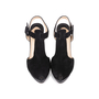 Authentic Second Hand Christian Louboutin Orlan Suede Sandals (PSS-585-00004) - Thumbnail 0