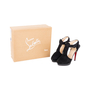 Authentic Second Hand Christian Louboutin Orlan Suede Sandals (PSS-585-00004) - Thumbnail 6