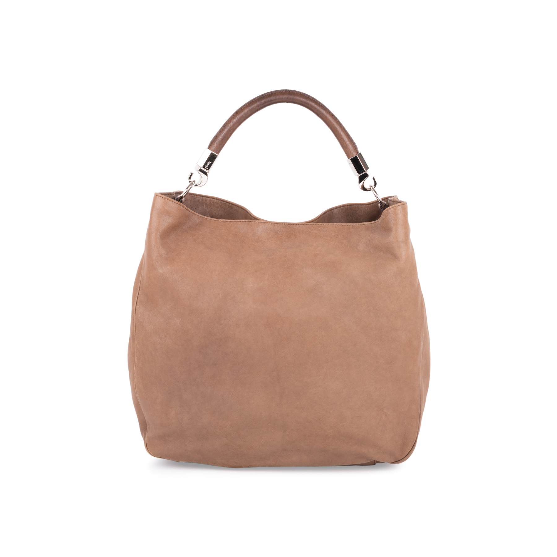 9d1da1aa00e2 Authentic Second Hand Yves Saint Laurent Roady Leather Hobo Bag  (PSS-585-00011)