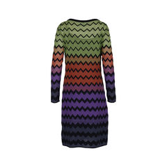 M missoni multicoloured knit dress 2?1547104846