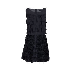 Emporio armani ruffle layered rosette dress 2?1547445595