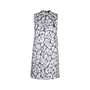 Authentic Second Hand Theory Printed Silk Dress (PSS-515-00228) - Thumbnail 0