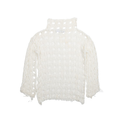 Authentic Second Hand IRO Open Crochet Knit Top (PSS-515-00229)