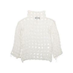 Iro open crochet knit top 2?1547445666
