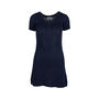 Authentic Second Hand Prada Navy Crochet Knit Dress (PSS-515-00230) - Thumbnail 0