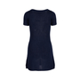 Authentic Second Hand Prada Navy Crochet Knit Dress (PSS-515-00230) - Thumbnail 1