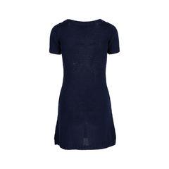 Prada navy crochet knit dress 2?1547445719