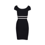 Authentic Second Hand Aly & Jay Stretch Knit Dress (PSS-515-00232) - Thumbnail 1