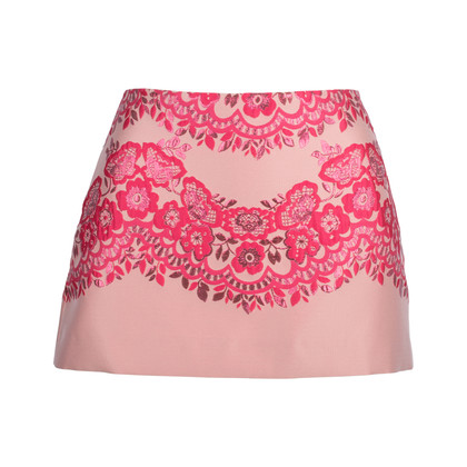 Authentic Pre Owned RED Valentino Floral Embroidered Skirt (PSS-515-00236)