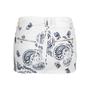 Authentic Pre Owned Pierre Balmain Printed Denim Miniskirt (PSS-515-00269) - Thumbnail 1