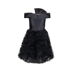 Marchesa notte off shoulder ruffled mini dress 1?1547446032