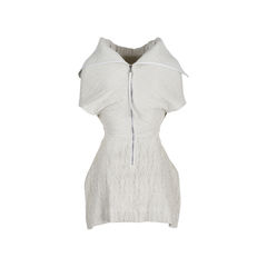 Rick owens structured ruched top 2?1547446073