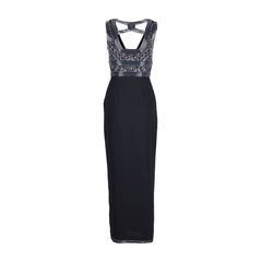 Basix black label embellished cut out gown 4?1547446165