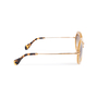 Authentic Second Hand Miu Miu Round Glitter Acetate Sunglasses (PSS-515-00237) - Thumbnail 2