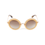 Authentic Pre Owned Miu Miu Round Glitter Acetate Sunglasses (PSS-515-00237) - Thumbnail 4
