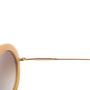 Authentic Second Hand Miu Miu Round Glitter Acetate Sunglasses (PSS-515-00237) - Thumbnail 5