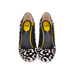 Printed Calf Hair Pumps