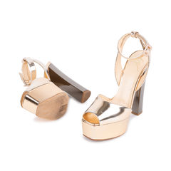 Giuseppe zanotti mirrored leather platform sandals 2?1547457335