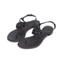 Authentic Second Hand Chanel Leather Bow Thong Flats (PSS-515-00260) - Thumbnail 3