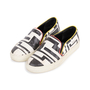 Authentic Pre Owned Emilio Pucci Leather Embossed Slip Ons (PSS-515-00261) - Thumbnail 3
