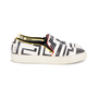 Authentic Pre Owned Emilio Pucci Leather Embossed Slip Ons (PSS-515-00261) - Thumbnail 4