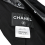 Authentic Pre Owned Chanel Leather and Tweed Slit Jacket (PSS-605-00001) - Thumbnail 2