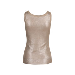 Hermes metallic knit top 2?1547528479