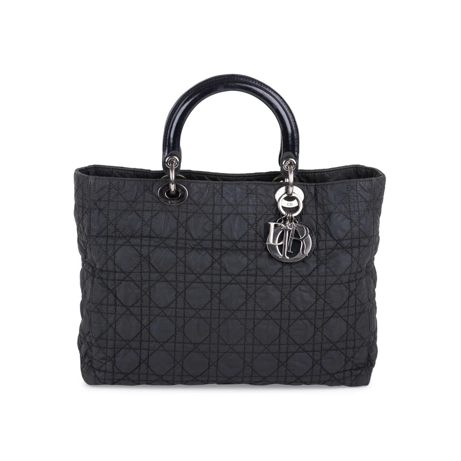 Large Nylon Lady Dior Bag