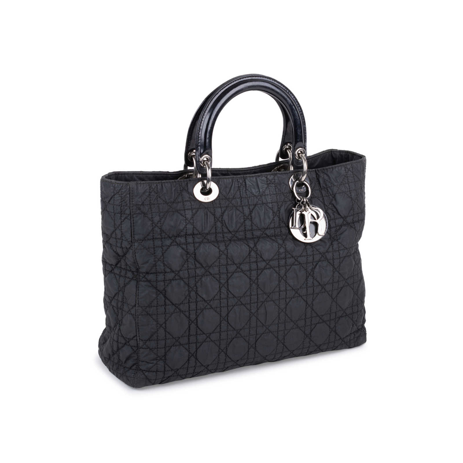 ... Authentic Second Hand Christian Dior Large Nylon Lady Dior Bag  (PSS-132-00137 ... b5c55ee31634c