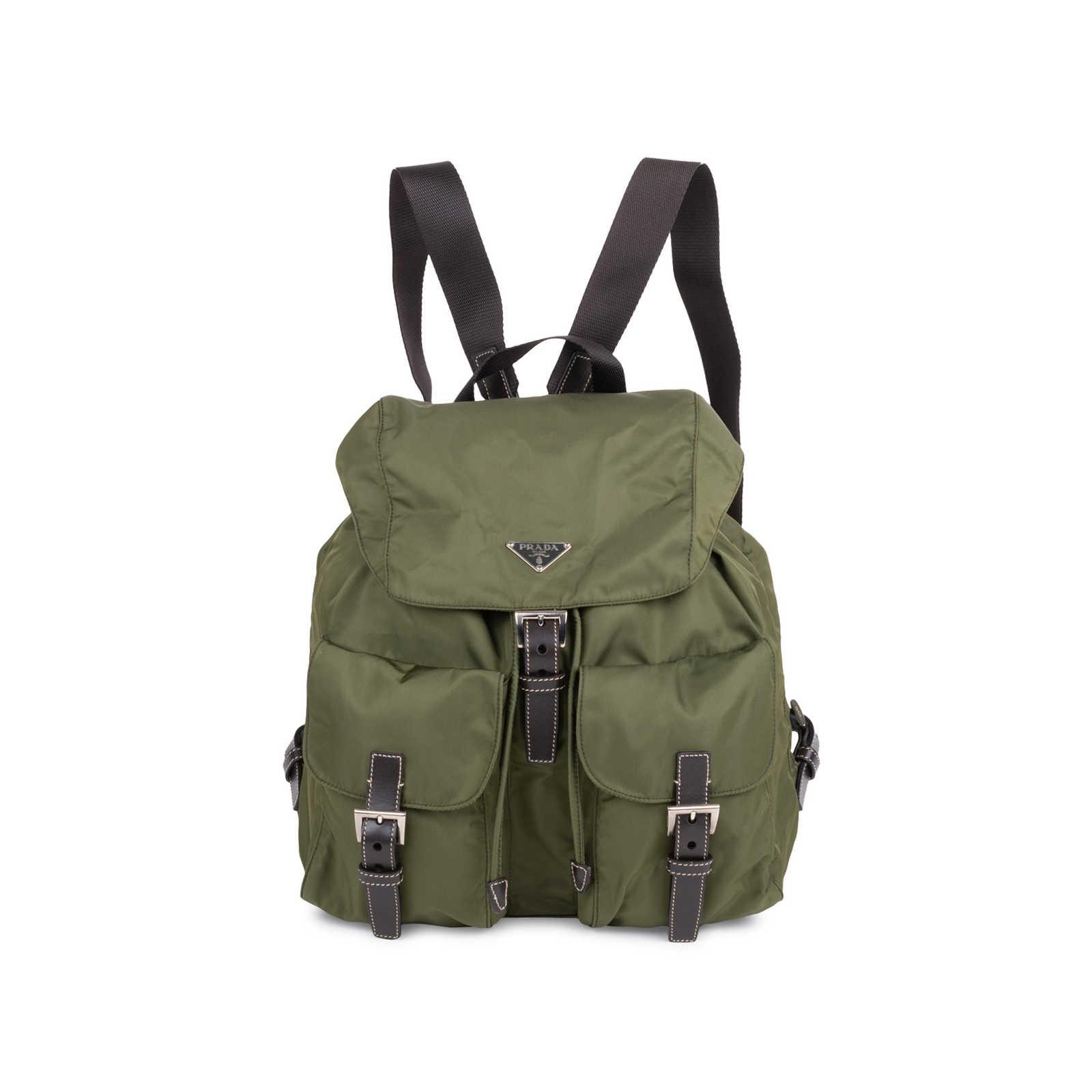 b1d7afcd5e06d7 Authentic Second Hand Prada Vela Nylon Backpack (PSS-606-00010) - Thumbnail  ...