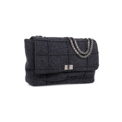 Chanel wool reissue mademoiselle jumbo bag 2?1547709750